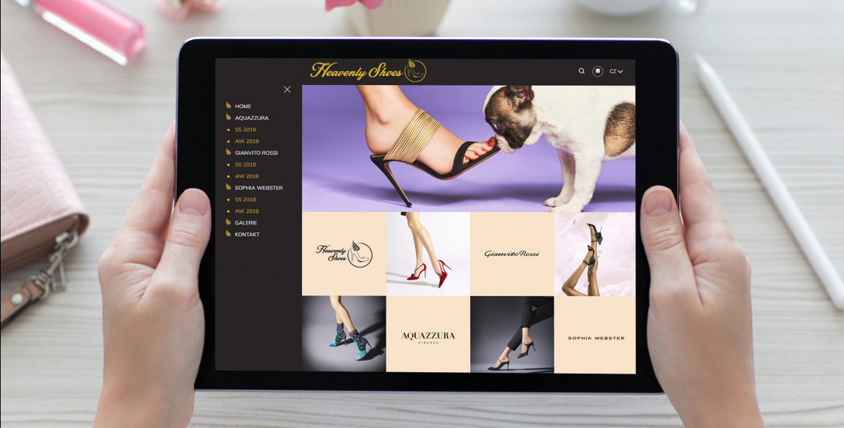 Heavenly Shoes on-line